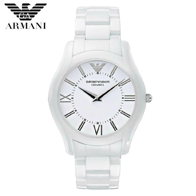 【クリックで詳細表示】EMPORIO ARMANI(エンポリオ アルマーニ)エンポリオアルマーニ AR1443 セラミック レディース腕時計 EA-AR1443 新品 超特価 時計 送料無料 正規輸入品