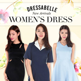 【AUG NEW UPDATE】 70% OFF/ New arrivals women's dress/ Premium quality girls' one-piece/Working or evening gown/skirts –S to XL