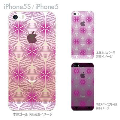 【iPhone5S】【iPhone5】【iPhone5sケース】【iPhone5ケース】【カバー】【スマホケース】【クリアケース】【チェック・ボーダー・ドット】 21-ip5s-ca0015の画像