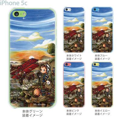 【SWEET ROCK TOWN】【iPhone5c】【iPhone5cケース】【カバー】【スマホケース】【クリアケース】【Clear Arts】【アート】 46-ip5c-sh0019の画像