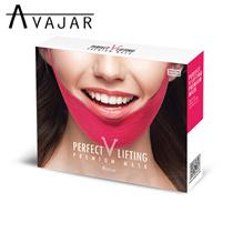 [AVAJAR]パーフェクトVリフティングレミアムマスク(5枚)/ Vのライン/ Vリフティング/大当たり後期/韓国芸能人使用/有名リフティング/痩身効果/二重顎解決/頬の肉を持ち上げる/世界初/特