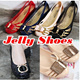 ★ Korea HIT★ Women jelly shoes soft comfort flats casual sneakers wedge heels sandal slip on girl ladies Melissa Style slipper Korean fashion shoe