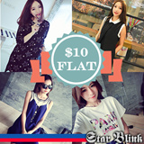 [24 MAY New Arrivals] FLAT PRICE $10 Womens Dress Tops Blouse Shirts (Free Shipping)