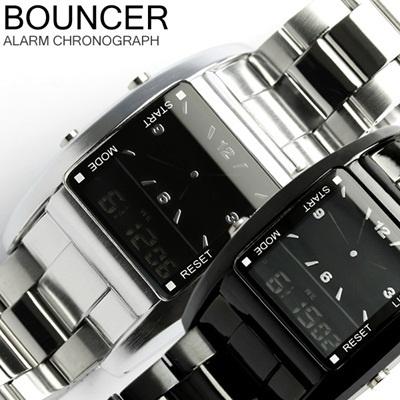 【BOXなし 訳あり特価】BOUNCER バウンサー 腕時計 スタンダード 腕時計 メンズウォッチ メンズ うでどけい 腕時計 MENSの画像