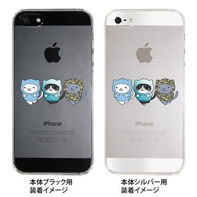 【iPhone5S】【iPhone5】【まゆイヌ】【Clear Arts】【iPhone5ケース】【カバー】【スマホケース】【クリアケース】【トレーニングねこ】【ダイエット】 26-ip5-md0028の画像
