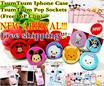 Tsum Tsum 3D Iphone case / Tsum Tsum Pop Sockets / Phone case