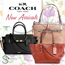 DIRECT SHIPMENT FROM USA - COACH NEW RELEASE HANDBAGS -LIMITED EDITION