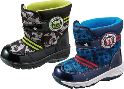 (A倉庫)OSHKOSH OSK WC120SP オシュコシュ 子供靴 男の子 キッズ ウインターシューズ スノーブーツ 防水設計の画像