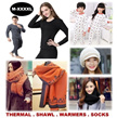 [ORTE] Sale★High Quality Shawl★Kids Thermal Wear★Wool Winter Socks★Gloves★Neck Warmers★Scarf★