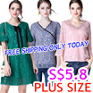 ONLY TODAY FREE SHIPPING 30/3  BIG PROMO new update $5.8  PLUS SIZE collection high quality best pr