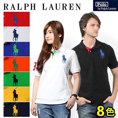 POLO RALPH LAUREN ポロ ラルフローレン ビッグポニー ナンバリング 半袖 ポロシャツ 男女兼用の画像
