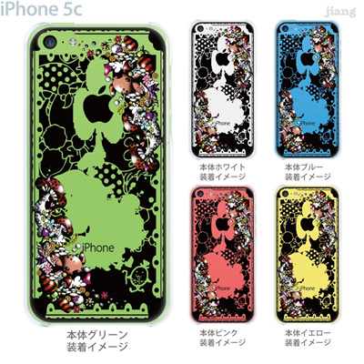 【iPhone5c】【iPhone5cケース】【iPhone5cカバー】【iPhone ケース】【スマホケース】【クリアケース】【クリア】【イラスト】【アート】【Little World】【不思議の国のアリス】【パンプティ・ダンプティ】 25-ip5c-amc001の画像