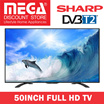 SHARP 50inch FULL HD LED TV LC-50LE275X / LOCAL WARRANTY