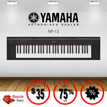 NEW! [YAMAHA][ DIGITAL PIANO SALE!] ★★ Yamaha NP-12 Piaggero Portable Keyboards★★| Music Keyboard