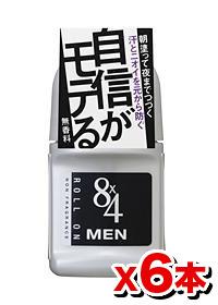花王8×4(エイトフォー)MENロールオン無香料50g【6本set】