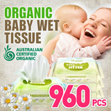 [Organic Wet Tissue]Launching Event 1200pcs Only for First 100 Customers ♥ MADE IN KOREA ♥ THICK N SOFT - BEST WIPES EVER ♥ AMAZING CARTON SALE ♥ DIAPERING / WET TISSUE /MAKE-UP REMOVER ♥