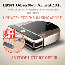 [★INTRODUCTORY SALE★] Dibea D900 Robot Vacuum Cleaner ★ High Powered Japan Motor★ More deals inside