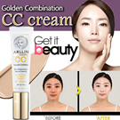[50% OFF Super SALE!!] ARLLIN CC Cream 30ml ★ The Best CC Ever! Golden Combination Charisma CC cream SPF37 PA++ / Rich Moisturizing Whitening and Wrinkle Care