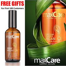 【MyShoppingPlace】 MaxCare Morocco Organics Argan Oil Revitalizing Shampoo and Conditioner Hair Mask