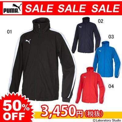 プーマ (PUMA) 4WAY DOUBLE CLOTHトレーニングジャケット 652697 [分類:サッカー トレーニングジャケット]の画像