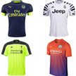 16-17-18 Soccer Jersey Home Away 3rd Barcelona Real Madrid Chelsea Manchester United Football Shirts