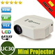 Big Sale!UC30 HD MINI Projector For Video Games TV Movie Support HDMI VGA AV Portable Digital Led Projector Home Theater