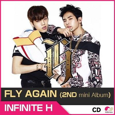 【予約 1/27】 INFINITE H FLY AGAIN ( 2nd mini album ) ◆ インフィニットH - フライアゲイン (2NDミニアルバム) インフィニット エイチ 【K-POP】【CD】の画像