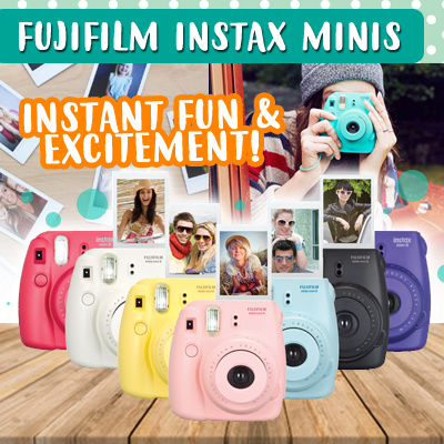 Fujifilm Instax Mini 8/9/25 Share Printer Paper Shoot Camera Polaroid Camera Deals for only S$299 instead of S$0