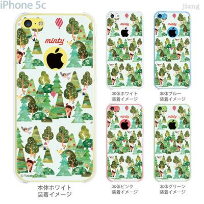 【iPhone5c】【iPhone5cケース】【iPhone5cカバー】【iPhone ケース】【クリア カバー】【スマホケース】【クリアケース】【イラスト】【クリアーアーツ】【おおでゆかこ】【Forest】 33-ip5c-yo0004の画像
