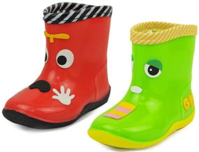 (A倉庫)ガチャピン×ムック 5006 子供長靴 キャラクター レインシューズ キッズ レインブーツ 男の子 女の子の画像