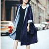 今年はデニムを羽織らなくちゃ🌸コーデに迷わない人気ITEM✨✨ デニムコート レディース ロング ロングコート コート 大きいサイズ アウター デニム