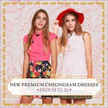 Mugigae  Premium New Collection CheongSam New Year Dress XS - XL