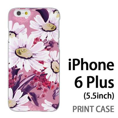 iPhone6 Plus (5.5インチ) 用『0310 蒲公英 ピンク』特殊印刷ケース【 iphone6 plus iphone アイフォン アイフォン6 プラス au docomo softbank Apple ケース プリント カバー スマホケース スマホカバー 】の画像