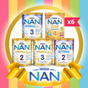 Nestle NAN Optipro 2/H.A. 2/H.A. 3/GRO 3 OR KID 4 Follow-Up/Growing Up Milk (carton sales)
