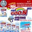 GOO.N Japan Version Diapers/Pants 4 Packs Deal-MIX SIZES! FREE GOO.N Wipes 3x70s Worth $11.90!