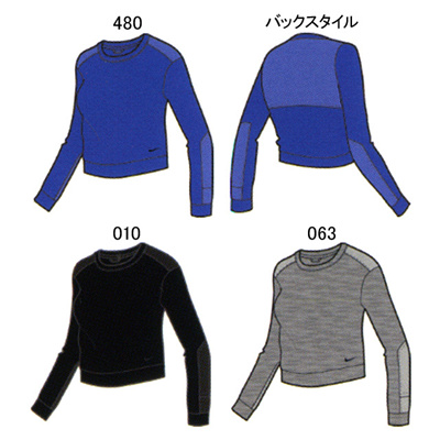 ナイキ (NIKE) レディース アドバンス 15 クルー 694156 [分類:長袖Tシャツ (レディース)]の画像