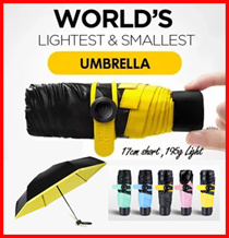 ULTRA SMALLEST Umbrella★[SG SELLER} ★Many Designs★ Nano/511 Tactical Large/  Reverse Umbrella★ 99%