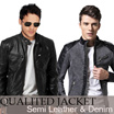 [LIMITED OFFERS - CLEARANCE SALE] Semi Leather Jackets Hottest Men // Many Model / Size M-XXXL