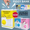 ❤PIGGY BANK❤New Cartoon Doraemon KT Cat Yellow Man Piggy Bank Money Box /Cartoon Mini ATM Password Piggy Bank Auto feed Cash Coin /Money Saving Box