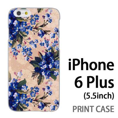 iPhone6 Plus (5.5インチ) 用『0310 小さな花 白』特殊印刷ケース【 iphone6 plus iphone アイフォン アイフォン6 プラス au docomo softbank Apple ケース プリント カバー スマホケース スマホカバー 】の画像