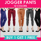 NEW COLOR + SIZE!! BEST SELLER HOT ITEM!! [BUY 1+1] JOGGER PANTS