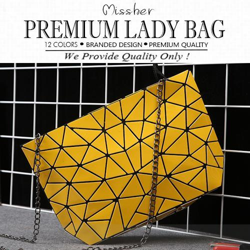 ?FREE DELIVERY?PREMIUM QUALITY / GEOMETRIC CLUTCH / MINI BAG / SLING BAG / SHOULDER BAG LB-CG09 Deals for only S$79.9 instead of S$0