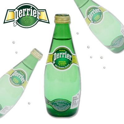 ペリエ プレーン 330mlボトル 24本入り 1ケース 【Perrier/ミネラルウォーター】【炭酸/硬水】の画像