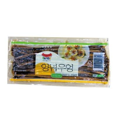 【韓国食品・韓国のり】 ■海苔巻き用味付けゴボウ150g■の画像