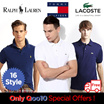★Only Qoo10 Special Offers !★ Ralph Lauren / Tommy Hilfiger / Lacoste 100% Authentic men and women short-sleeved pK polo T-shirts / Big Pony / Small Pony / POLO / Lacoste / Tommy Hilfiger / Hot Deal !