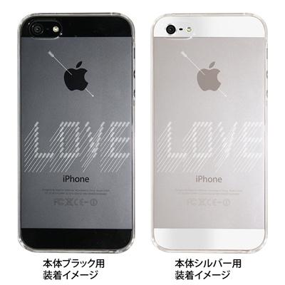 【iPhone5S】【iPhone5】【Clear Fashion】【iPhone5ケース】【カバー】【スマホケース】【クリアケース】【LOVE】 41-ip5-ao0003の画像