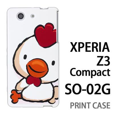 XPERIA Z3 Compact SO-02G 用『0723 干支 酉』特殊印刷ケース【 xperia z3 compact so-02g so02g SO02G xperiaz3 エクスペリア エクスペリアz3 コンパクト docomo ケース プリント カバー スマホケース スマホカバー】の画像