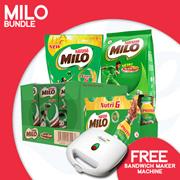 [Nestle] Milo Premium Bundle Promotion 【Buy this Bundle and get a Free Cornell Sandwich Maker!】