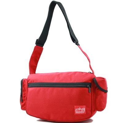 マンハッタンポーテージ(Manhattan Portage) ヘラルドスクエアショルダーバッグ Herald Square Shoulder Bag MP1465 RED レッド 【ショルダーバッグ】の画像
