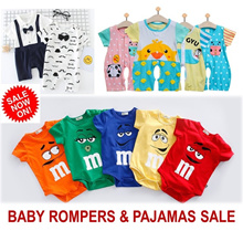 [ORTE] Opening Sale★Baby Pajamas★Rompers★100% cotton baby clothes★Jumper ★Maternity★Fast Delivery★